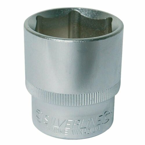Silverline 486935 Socket 1//2-inch Drive Imperial 1-1//8 Inches