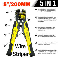 Professional Automatic Self Wire Cable Stripper Cutter Stripping Terminal Tool