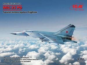 72177 MiG-25PD Soviet Interceptor Fighter ICM