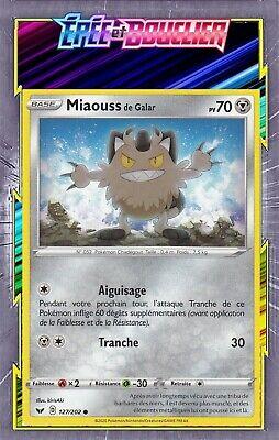 Carte Pokemon ZIGZATON de Galar 117//202 REVERSE Epée et Bouclier 1 EB01 FR NEUF