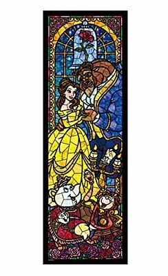 11x11 inch Beauty and the Beast Stained Glass Grime Guard for Q-snap.