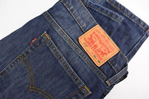 LEVI STRAUSS & CO. 510 Men's W34/L34 Blue Faded Skinny Fit Jeans 35240-GS