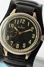 RUSSIAN PILOT Wrist Watch Poljot mechanical Vintage Soviet Caliber 3602