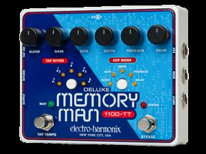 EHX Electro-Harmonix Deluxe Memory Man 1100-TT Delay Guitar Effects Pedal