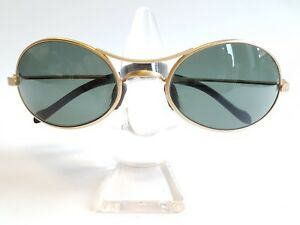 acfd05f8fa Ray Ban Vintage W2178 Orbs Oval Matte Gold G15 B L Lenses NOS ...