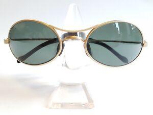 5ddb29e045e Ray Ban Vintage W2178 Orbs Oval Matte Gold G15 B L Lenses NOS ...