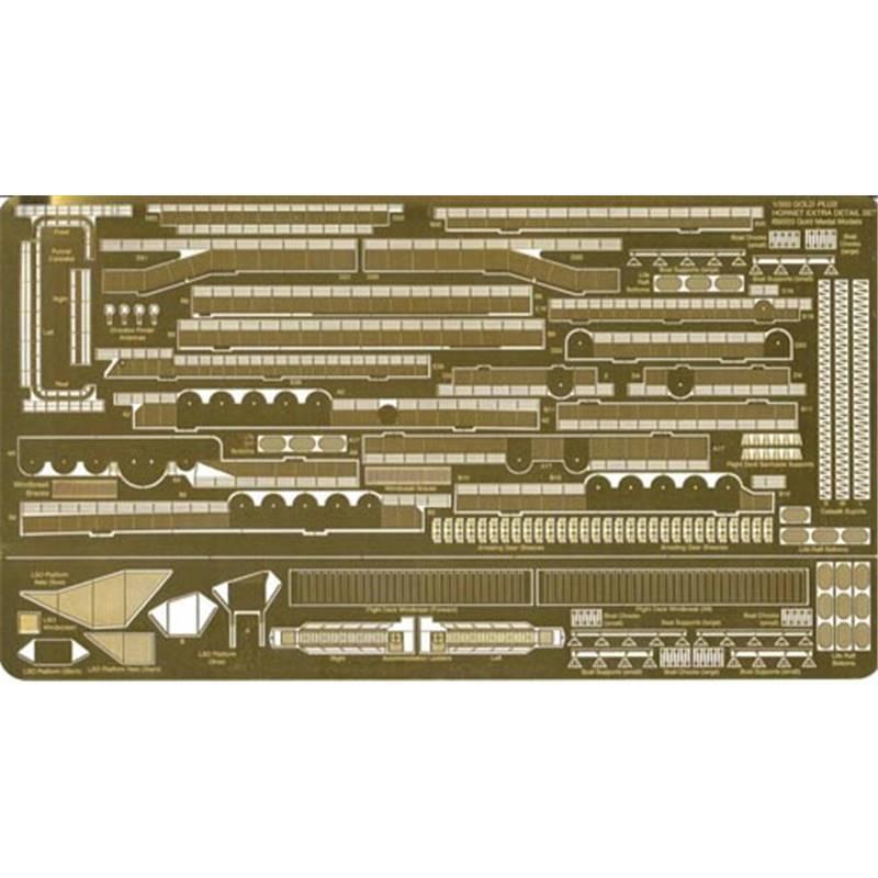 Super détail pour porte-avions USS Hornet  1 350