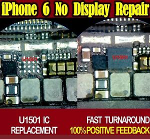 iPhone 6 6 Plus NO DISPLAY IMAGE U1501 IC CHIP REPLACEMENT REPAIR SERVICE - Newcastle upon Tyne, United Kingdom - iPhone 6 6 Plus NO DISPLAY IMAGE U1501 IC CHIP REPLACEMENT REPAIR SERVICE - Newcastle upon Tyne, United Kingdom