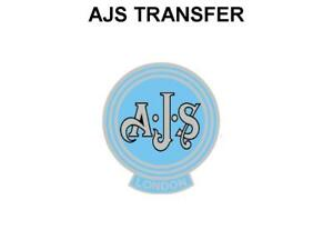AJS-Side-Panel-Circular-Transfers-Decals-Motorcycle-Light-Blue-Matchless-AMC