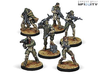 Infinity Ariadna USAriadna Ranger Force Starter Pack NIB
