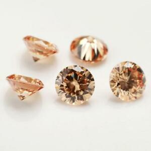 50x-3-25mm-loose-cubic-zirconia-gemstone-cz-stone-Round-shape-4Colors-Jewel-S4Z3