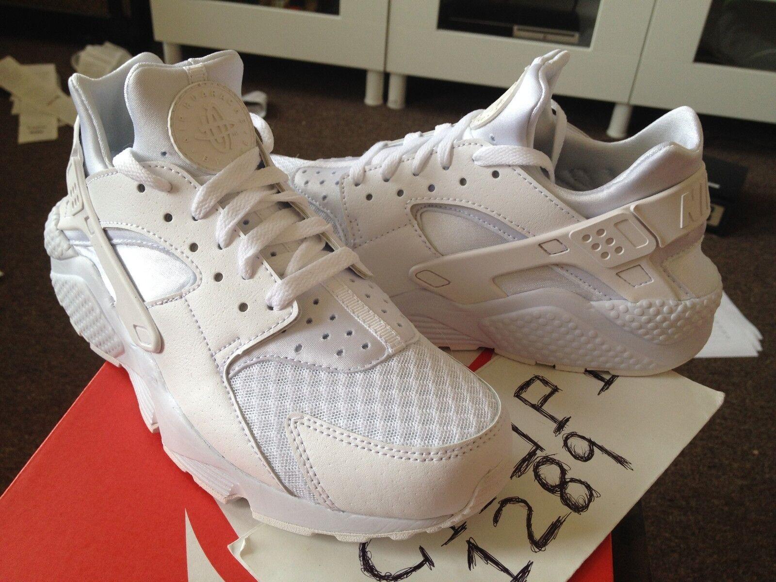 Nike air huarache platino triplo bianco nero puro platino huarache 318429-111 antracite le euro b822db