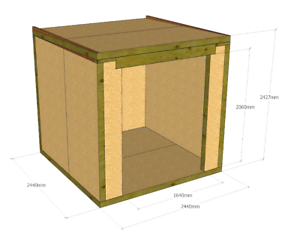 Structurally Insulated Panels (SIPs) DIY Kit - Garden ...