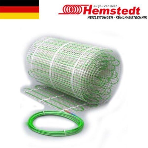Heizmatte für Fußbodenheizung, 2 Kreisläufen 9 m2 70/140 W / m2 // 630/1260 W