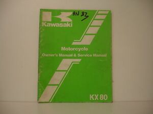 Kawasaki 80 Kx 1983 Manuel Atelier Workshop Manual De Taller Xuluchut-07221331-643241959