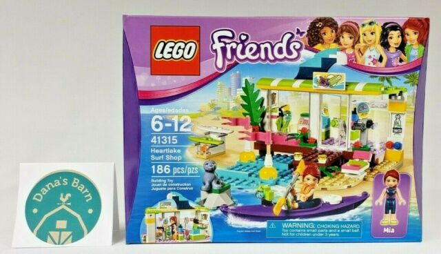 Lego Friends 41315 Heartlake Surf Shop 186pcs New Sealed 2017