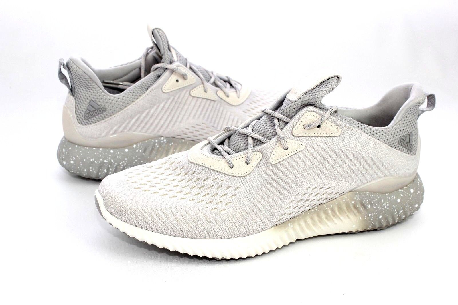 Adidas Mens Alphabounce 1 X Reigning Champ White Grey Mens Size 12 US