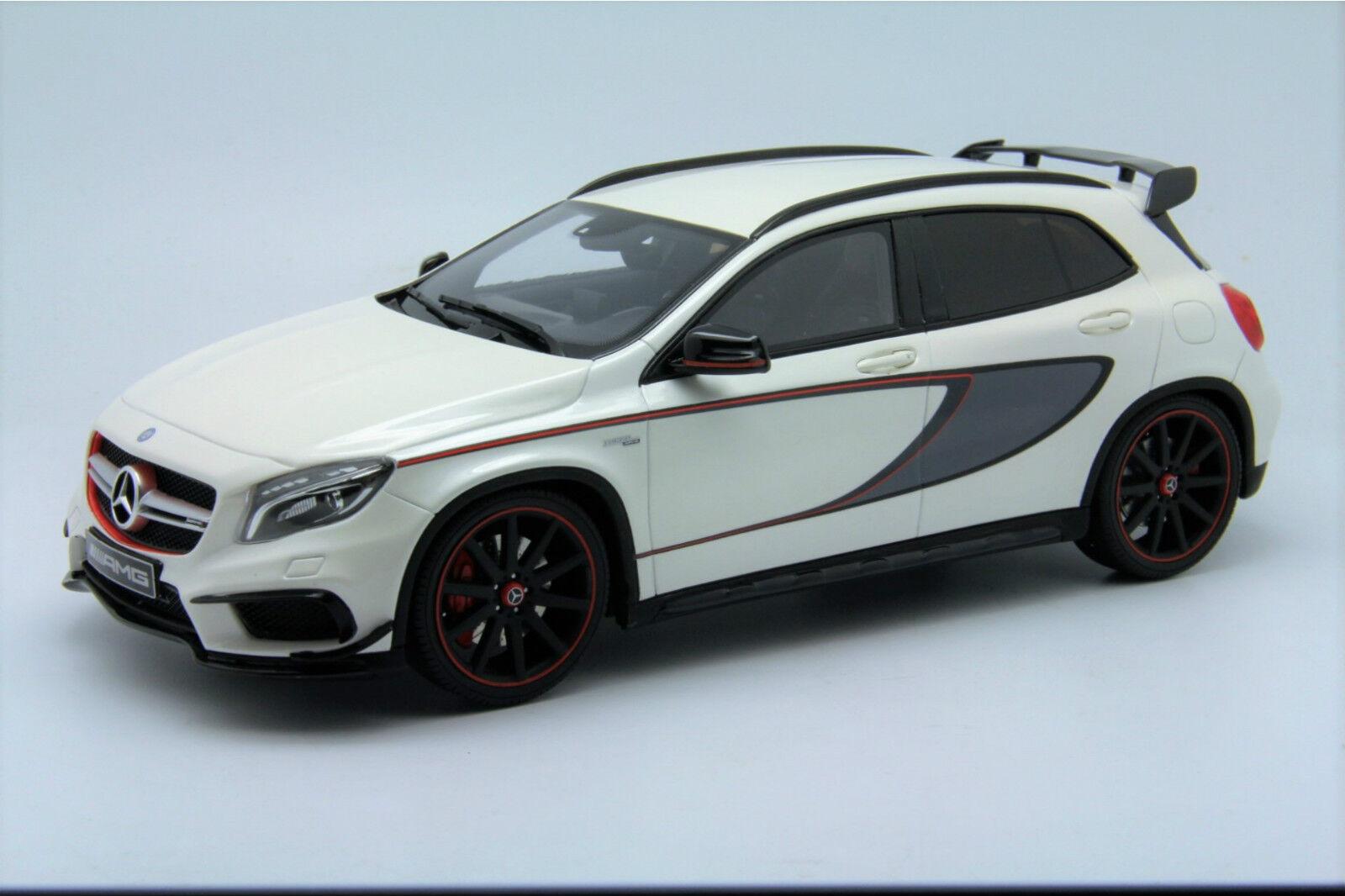 1  18 GT anda Mercedes GLA45 AMG Dealer Edition vit fri Shipping   MR BBR