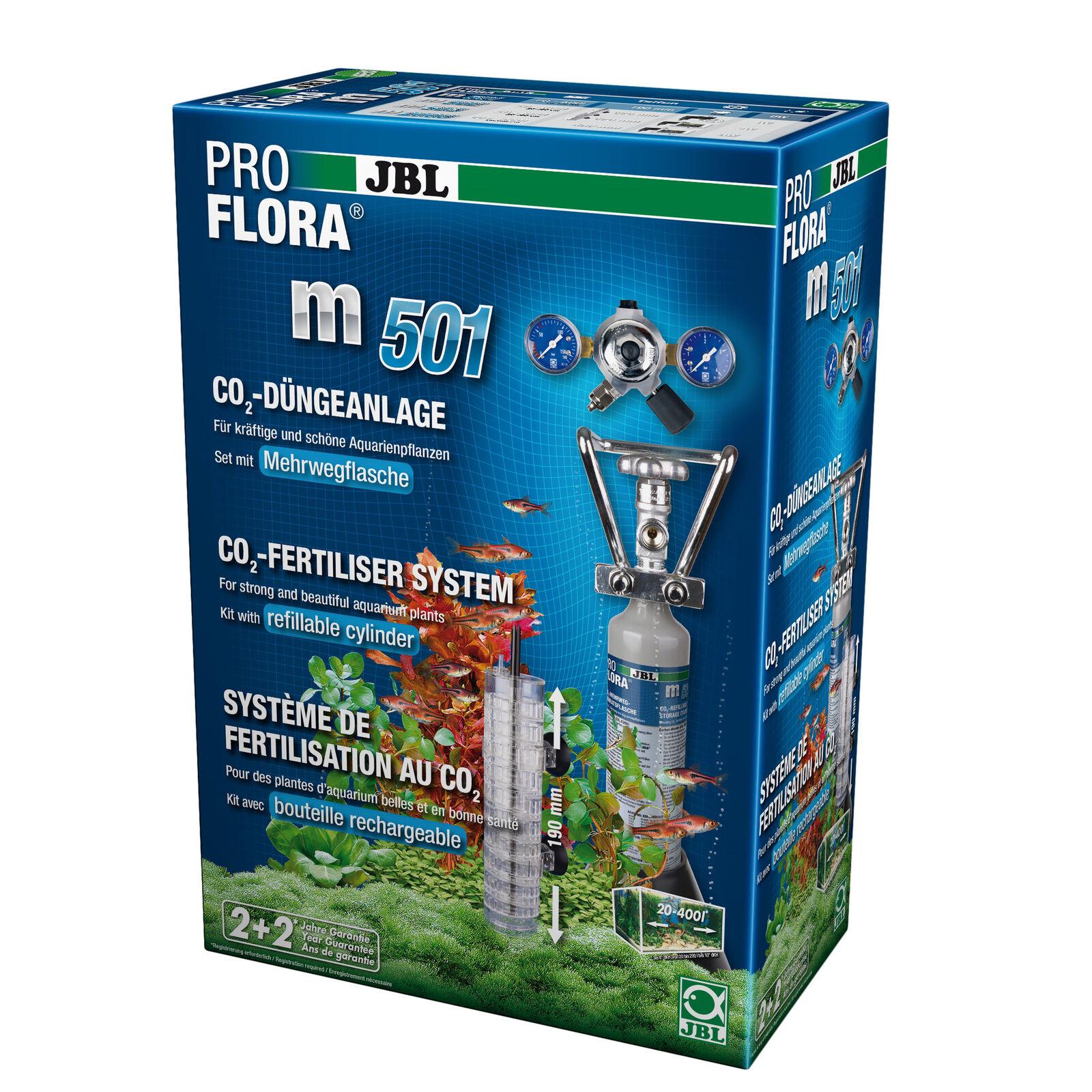 JBL pro Flora M501, Komplettset-Pflanzendüngeanlage, Acquari fino 400 L L L c5be53