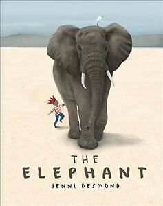 Elephant-Hardcover-by-Desmond-Jenni-Brand-New-Free-shipping-in-the-US