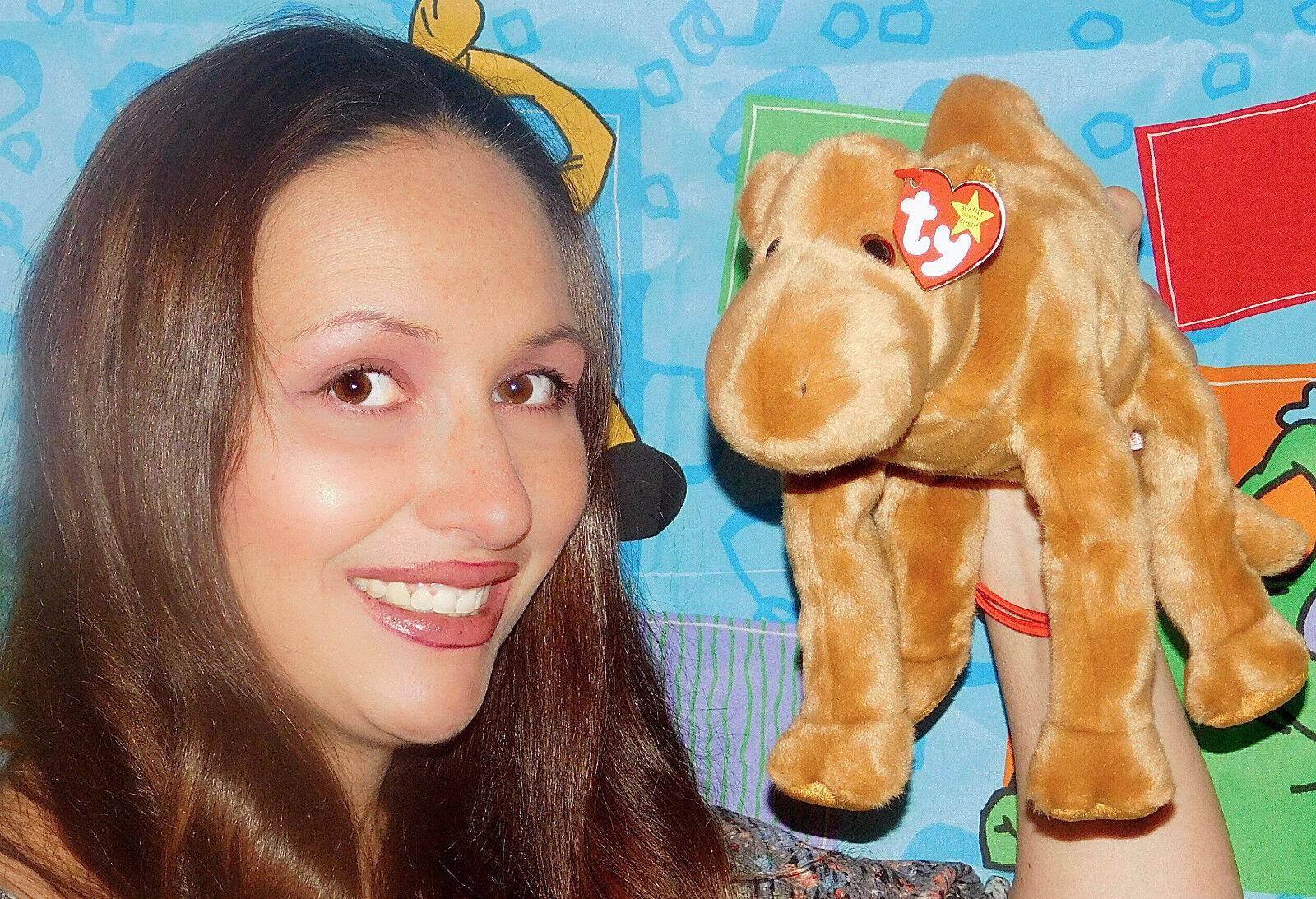 TY Beanie Buddy HUMPHREY the Camel NEW TAGS 1998 BUDDIES 11  BABY BROWN NWT TOY