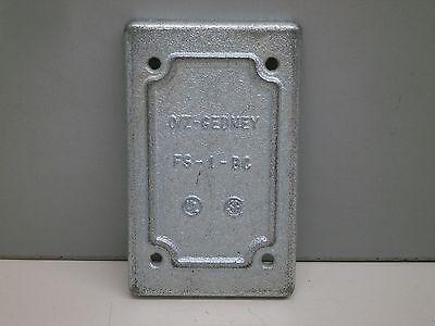 OZ Gedney FS-1-BC Blank Cover