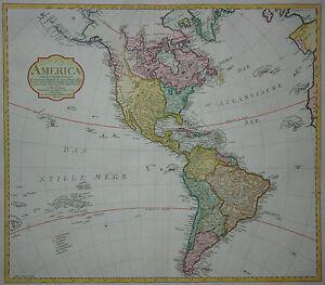America Après La Zweyten Sortie De Arrowsmiths Weltcharte-mannert 1806-États-unis-afficher Le Titre D'origine Vcepr228-10111133-788167432