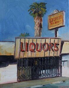 Liquor-store-Plein-Air-Impressionism-Landscape-John-Kilduff-Oil-18x14