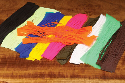 HARELINE DUBBIN SILICONE FLUTTER LEGS FOR  FLY AND JIG TYING YOU PICK COLOR