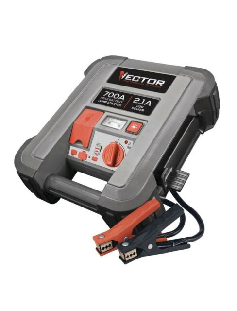 vector portable jump starter jus350v 700 a peak battery for sale online |  ebay  ebay