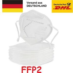 Mundschutz Atemschutz FFP2 Maske Gesichtsmaske Filtermaske Schutzmaske KN95 NEU