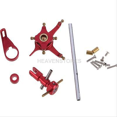 Metal Inner Shaft Wltoys Parts Sets for V911 Micro Helicopter CNC Alloy Red hv2n