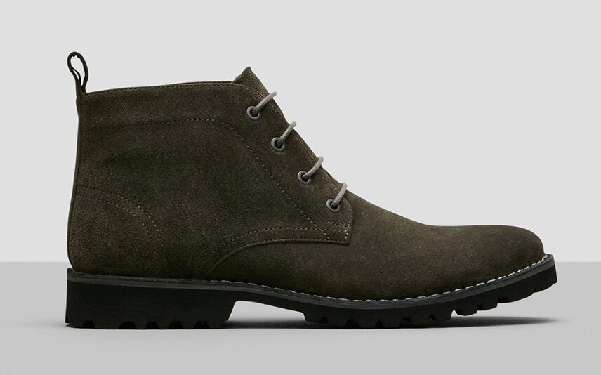 Kenneth Cole - New York Men's Lug-Xury Boots - Olive (Green) - Men's