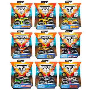 Monster-Jam-Official-1-64-Scale-Die-Cast-Trucks-CHOOSE-YOUR-TRUCK