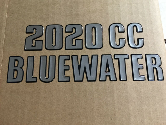 Key West Boats Domed 2020 CC Bluewater Decal (single)