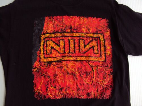 NIN NINE INCH NAILS VINTAGE TOUR T-SHIRT XL USED