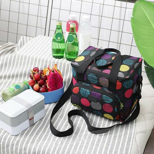 Insulated Waterproof Thermal Shoulder Picnic Cooler Lunch Bag Storage Tote Box
