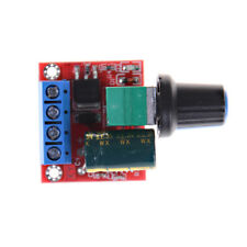 Mini Dc Motor Pwm Speed Controller 5a 45v 35v Speed Control Switch Led Dimmekw