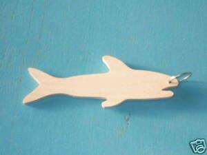Wooden-Key-Ring-039-Fish-039