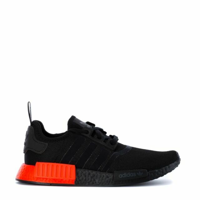 ADIDAS ORIGINALS NMD_R1 BOOST SHOES BLACK SOLAR RED EE5107 NMD NEW MENS