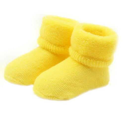 Baby Toddlers Combed Cotton Ankle Socks Girls Boys Elasticity Woolen Warm Socks