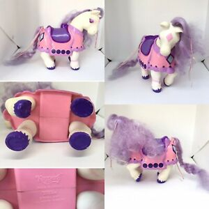 1980s-Vintage-Toy-Tonka-Keypers-Purple-Glitter-Diamond-Horse-Pony-Hiding-Place
