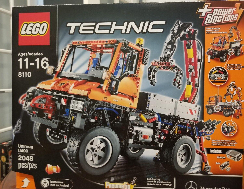 risposte rapide Lego 8110 Technic Mercedes-Benz Unimog U 400 400 400 nuovo SEALED  economico e alla moda