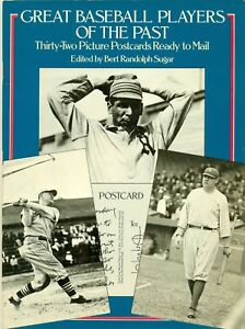 1978-GREAT-BASEBALL-PLAYERS-OF-THE-PAST-BOOK-OF-32-MINT-POSTCARDS-READY-TO-MAIL