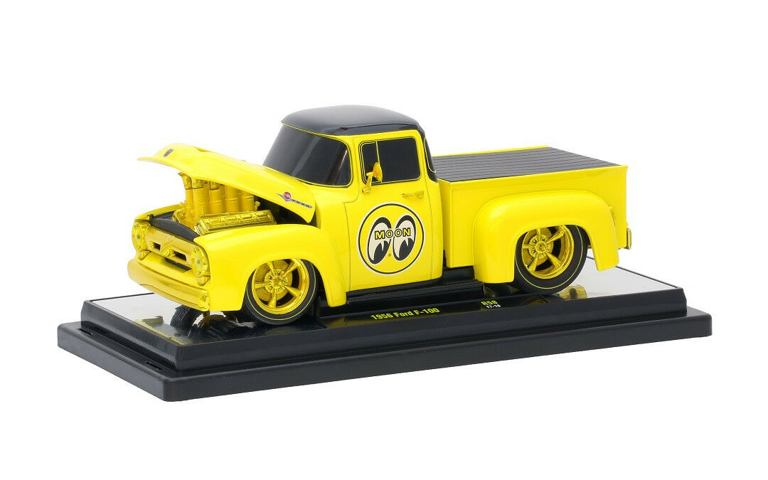 2017 máquinas M2 1 24 24 24 oro  1956 Ford F-100 Chase Mooneyes Limited 500 piezas. 7cd08a