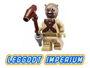 LEGO-Minifigure-Star-Wars-Tusken-Raider-head-spikes-sw620-Minifig-FREE-POST