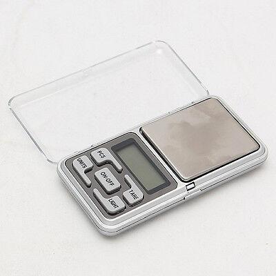 Mini 0.01g x 200g Digital Pocket Scale Jewelry Diamond Weight Balance LCD JU