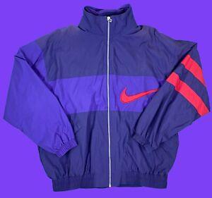 Nike-Premier-Vintage-Trainingsanzug-XL-90s-90er-Ds-Desdstock-Vtg-Jacke-Hose-NOS