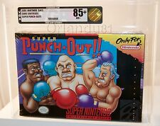 Super Punch-Out VGA 85+ Gold Super Nintendo SNES New Factory Sealed Rare!!!
