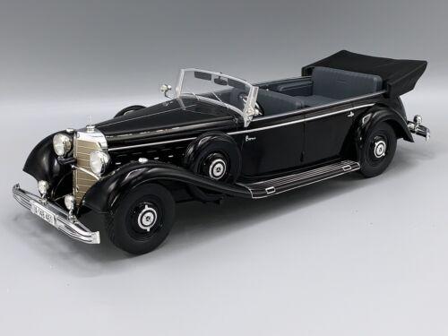 schwarz 1938  1:18 MCG 18207  *NEW*** W150 Cabriolet Mercedes 770